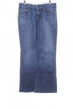 Citizens of Humanity Boot Cut Jeans stahlblau Jeans-Optik