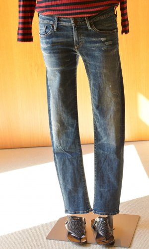 CITIZENS OF HUMANITY CoH Racer Skinny 29 usedlook Neu Stretch Etikett low rise