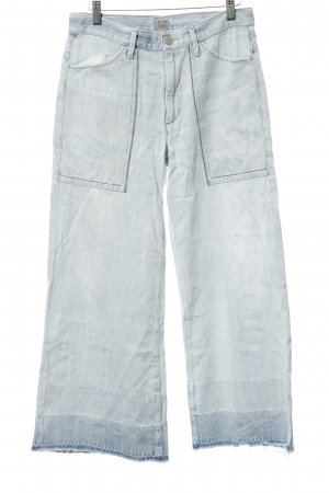 Citizens of Humanity High Waist Jeans azure distressed style