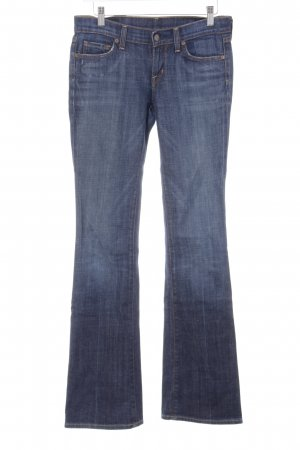 Citizens of Humanity Jeans vita bassa blu scuro-grigio ardesia stile casual