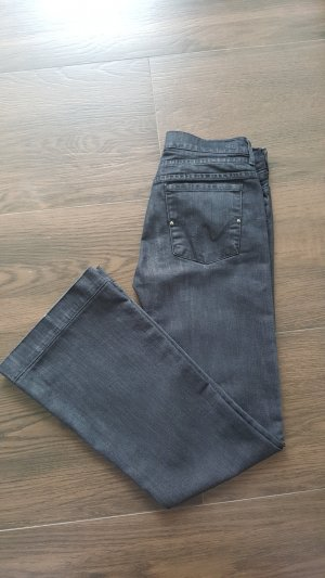 Citizens of Humanity Jeans 30 schwarz Schlaghose Hutton Stretch High Rise Wide Leg