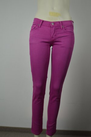 Citizens of Humanity Jeans a sigaretta magenta Cotone