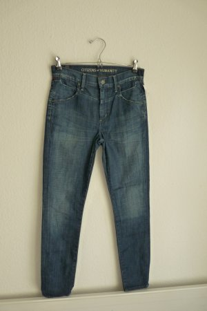 Citizens of Humanity Jeans XS S 34 *NEU* blau Denim Style Fashion Blogger