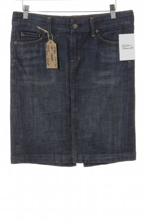 Citizens of Humanity Jeansrock dunkelblau Casual-Look