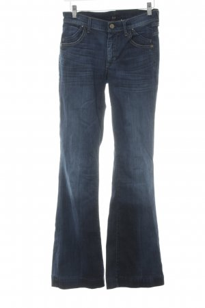 Citizens of Humanity Jeansschlaghose dunkelblau Casual-Look