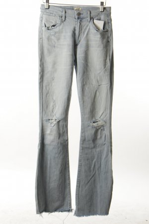 Citizens of Humanity Jeansschlaghose hellblau Casual-Look