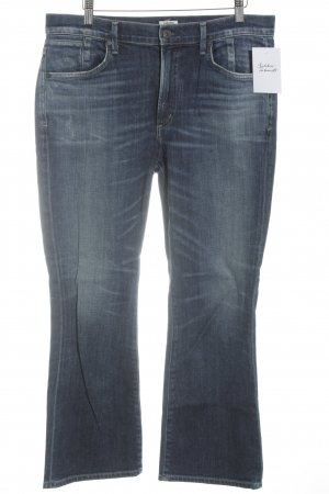 Citizens of Humanity Jeansschlaghose stahlblau Casual-Look