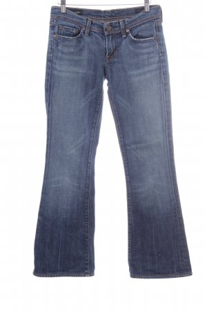 Citizens of Humanity Denim Flares steel blue-cornflower blue casual look