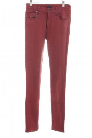 Citizens of Humanity Jegging rouge style décontracté