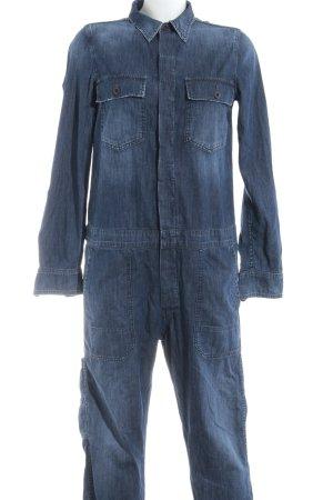 Citizens of Humanity Jumpsuit blau Jeans-Optik