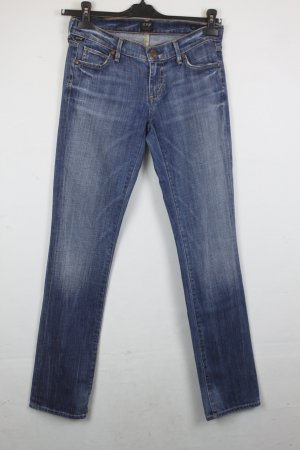 Citizens of Humanity Low Rise Straight Leg Jeans Gr. 27 blue denim