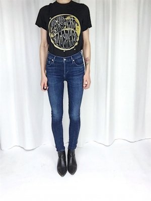Citizens Of Humanity Rocket High Rise Skinny Jeans W26 Blogger Cosy Trend 70's Rock 'n' Roll