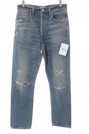Citizens of Humanity Röhrenjeans blau-graugrün Jeans-Optik