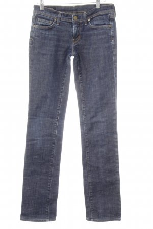 Citizens of Humanity Slim Jeans blau-bronzefarben Casual-Look
