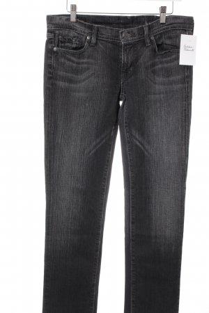 Citizens of Humanity Slim Jeans dunkelgrau-wollweiß meliert Casual-Look