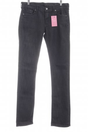 "Citizens of Humanity Straight-Leg Jeans ""ava"" anthrazit"