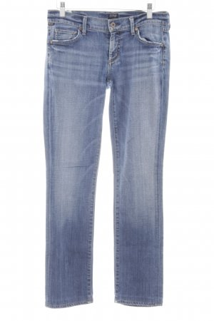 "Citizens of Humanity Straight-Leg Jeans ""Ava"" dunkelblau"
