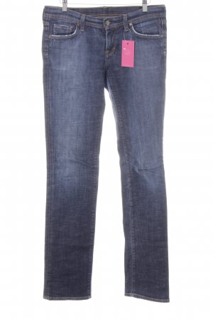 Citizens of Humanity Straight-Leg Jeans blau Used-Optik