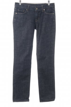 Citizens of Humanity Straight-Leg Jeans dunkelblau Webmuster Casual-Look