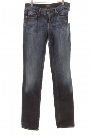 "Citizens of Humanity Straight-Leg Jeans ""Elson "" dunkelblau"