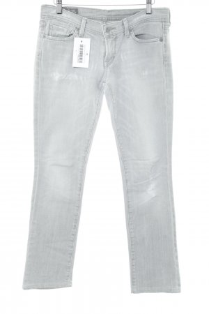 Citizens of Humanity Straight-Leg Jeans hellgrau Casual-Look