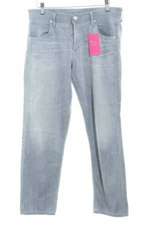 Citizens of Humanity Straight-Leg Jeans hellgrau Washed-Optik