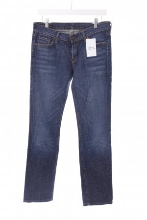 "Citizens of Humanity Straight-Leg Jeans ""Kelly"" dunkelblau"