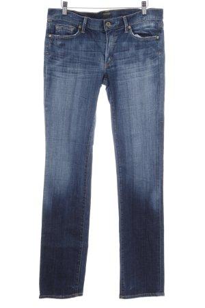 Citizens of Humanity Straight-Leg Jeans stahlblau Jeans-Optik
