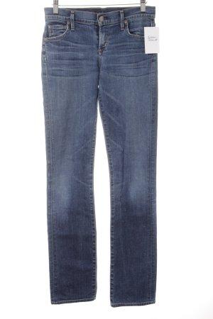 Citizens of Humanity Straight-Leg Jeans stahlblau schlichter Stil