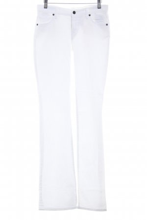 Citizens of Humanity Straight-Leg Jeans weiß Casual-Look