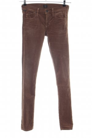 Citizens of Humanity Stretch broek bruin casual uitstraling