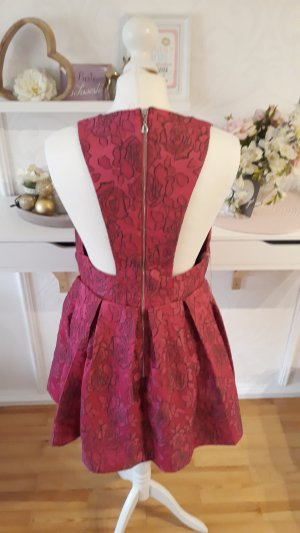 Asos A Line Dress raspberry-red-pink