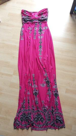 Bandeau Dress multicolored mixture fibre