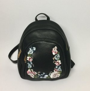 City Rucksack Damen Blumen Motiv Outdoor Backpack