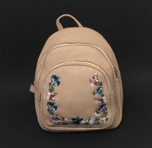 City Rucksack Damen Mädchen Outdoor Rose Blumen Motiv Backpack Neu