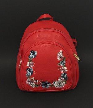 City Rucksack Damen Mädchen Rot Backpack Outdoor