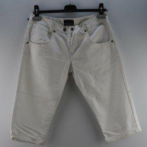 Calvin Klein Jeans 3/4 blanc cassé coton
