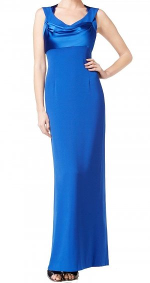 CK Calvin Klein Damen Lang Kleid Abendkleider Cocktail Maxikleid