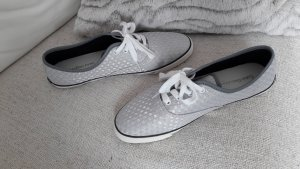 cK Calvin Klein Jeans sneaker Stoffschuhe Slipper bryana silber