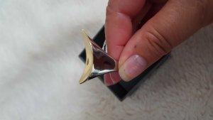CK, Calvin Klein, Ring, gr 18, bicolor, neu