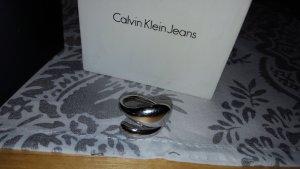 CK Calvin Klein Ring silber