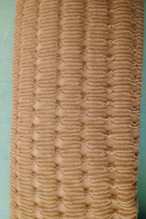 CK Designer-Strumpfhose mit Lochmuster nude