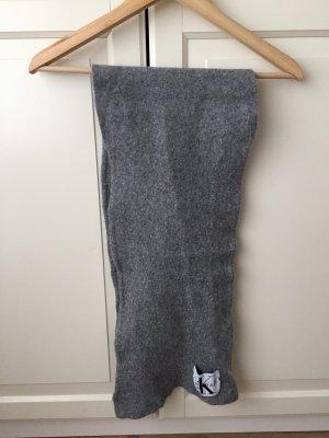 Calvin Klein Jeans Sciarpa in cashmere grigio