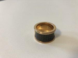 Calvin Klein Statement Ring rose-gold-coloured-dark grey