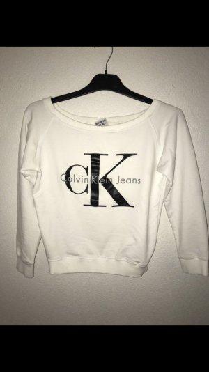 Suéter blanco-negro