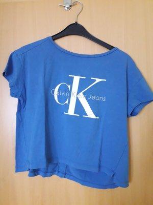 CK T-Shirt Blau