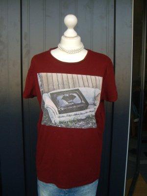 CKH by Clockhouse: T-Shirt, bordeaux, M