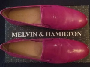 Melvin & hamilton Zapatos formales sin cordones multicolor Cuero
