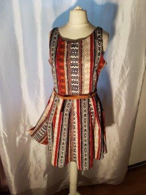 Clamourous Kleid Gr S Ethno neuwertig mit Gürtel