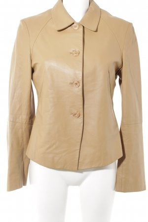 Clan Lederjacke camel Casual-Look